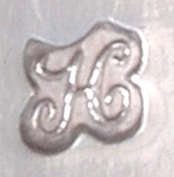 Jaarletter H van 1817 zilver