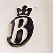 Meesterteken B met een kroon van Begeer te utrecht