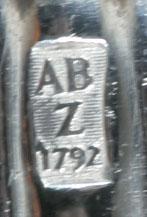 A. Bonebakker & Zoon zilversmid Amsterdam