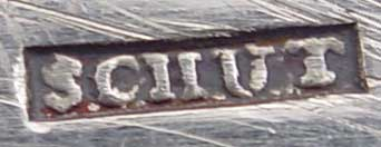 zilversmid Arnoldus Schut te Amsterdam 1794 - 1811