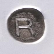 zilvermerk jaarletter 1927