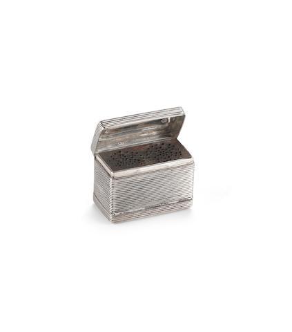 zilveren nootmuskaatrasp Barens Enzering