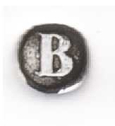 Zilverkeur jaarletter B van 1836