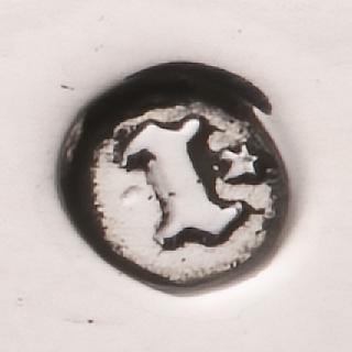 Jaarletter van 1868 met een ster
