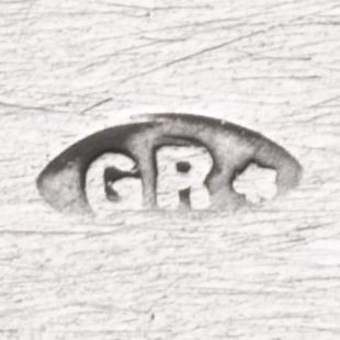 gr* meesterteken van Zilversmid G. Reijnen te Schoonhoven