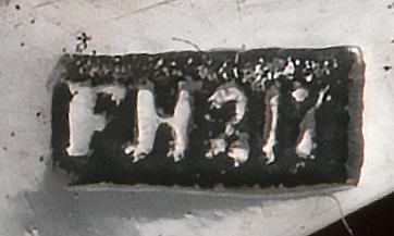 Zilversmid Fokke Hofman te Kollum tussen 1863 en 1890 Zilverkeuren database Zilver.nl