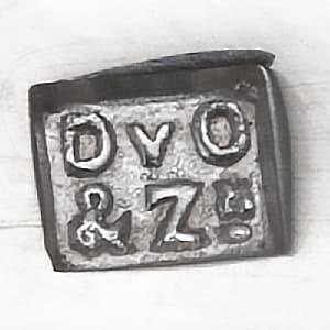 zilver meesterteken Fa. D van Outvorst & Zoon Zilverkeuren Zilver.nl