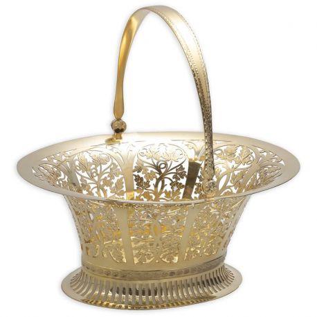 Zilveren druivenmand gemaakt in Wenen Oostenrijd na 1922 Zilverkeuren Zilver.nl