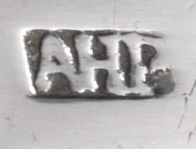 AHP meesterteken van zilversmid A.H. Paap Amsterdam Zilver.nl