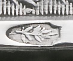 Boomtak voor klein zilver De Zuidelijke nederlanden 1794 - 1830 Zilverkeuren Zilver.nl
